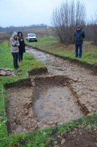 10.Viking Age grave pit at Izborsk